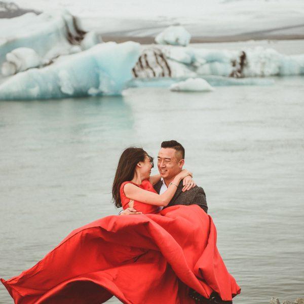Albert and Viann [Iceland Elopment]